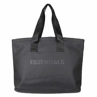 FEAR OF GOD - ESSENTIALS BLACK TOTE BAG 2020AW