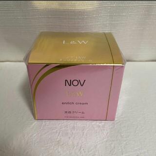 NOV - NOV ノブL&W エンリッチクリーム 美白クリーム