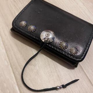 ゴローズ(goro's)のゴローズ カードケース 名刺入れ 黒 財布(名刺入れ/定期入れ)