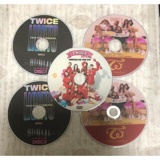 Waste(twice) - TWICE5枚セットお買い得★DREAM DAY★CANDYPOP★LIGHTS