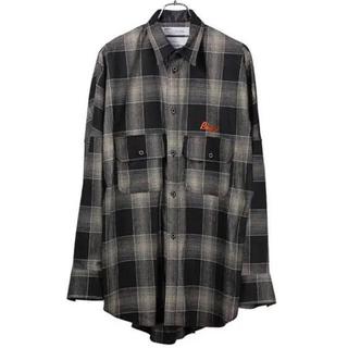 Dairiku biggie wool shirt チェックウールシャツ