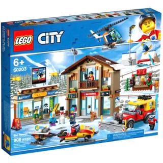 Lego - 新品未開封 レゴ(LEGO)  シティ スキー リゾート 知育 ラスト1点