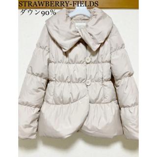 STRAWBERRY-FIELDS - ストロベリーフィールズ ダウン90%‼︎ショート丈ダウンコート♡美品