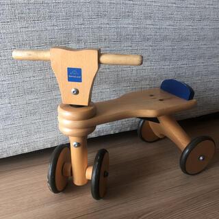 BorneLund - お値下げ☆ ボーネルンド 木の4輪バイク