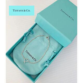 Tiffany & Co. - ◆Tiffany & Co.sv925◇クロスハートブレスレット☆