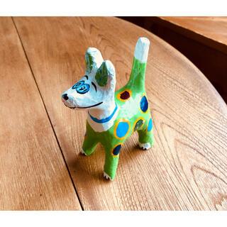 アッシュペーフランス(H.P.FRANCE)のベトナム土産 犬のオブジェ / インテリア 雑貨 おみやげ 海外 民芸品(置物)