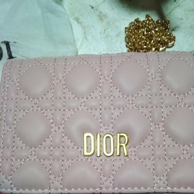 Dior(ディオール)のDIOR新品未使用2点セットショルダーバック、カード入れ レディースのバッグ(ショルダーバッグ)の商品写真