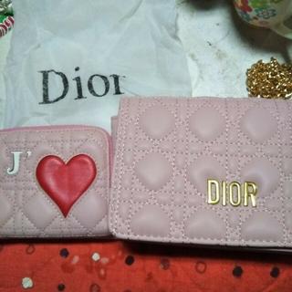 Dior - DIOR新品未使用2点セットショルダーバック、カード入れ