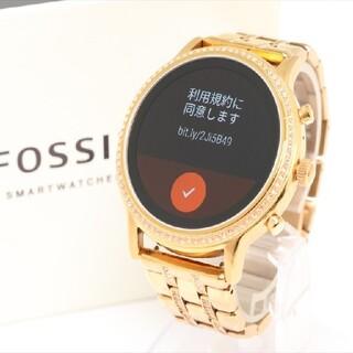 FOSSIL - 【フォッシル】DW10F1 スマートウォッチ、ストーン付き、レディース腕時計