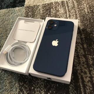 iPhone - iPhone12 mini 128GB ブルー simフリー