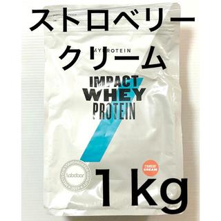 マイプロテイン ストロベリークリーム 1キロ
