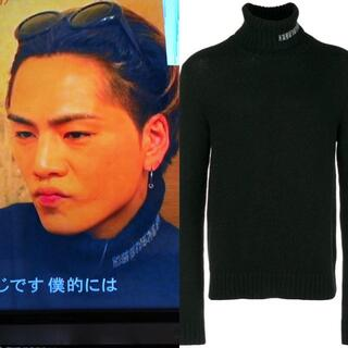 Calvin Klein - CALVIN KLEIN 205W39NYC タートル ニット セーター
