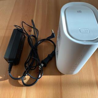 Wi-Fiルーター UQ WiMAX HOME01