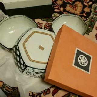タチキチ(たち吉)のたち吉の角鉢3セット(食器)