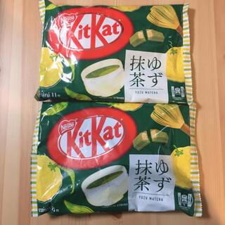 ネスレ(Nestle)のキットカット KitKat ゆず抹茶 2袋 ネスレ チョコ お菓子 詰め合わせ(菓子/デザート)