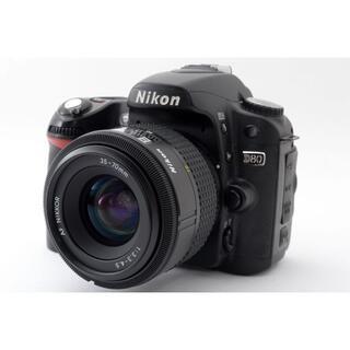Nikon - ☆Wi-Fi付き!!手軽にプロのような写真を撮れる♪☆Nikon ニコン D80