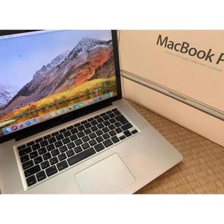 Mac (Apple) - 15インチ macbookpro i7 16GB SSD512GB office