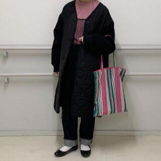 w closet - wcloset キルティングコート