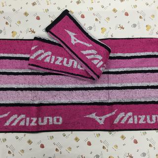 ミズノ(MIZUNO)のミズノフェイスタオル  2枚セット(タオル/バス用品)
