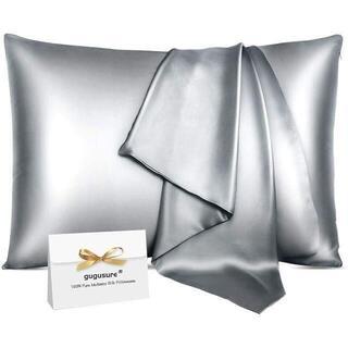【最高級ホテル品質】抗菌 100%桑糸シルク枕カバー