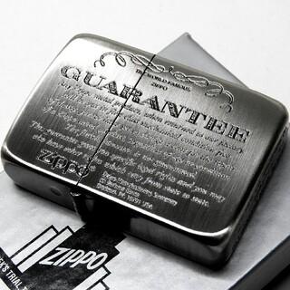 (送料込み)ZIPPO/1941復刻/ギャランティ◇シルバー古美◇新品◇ジッポ