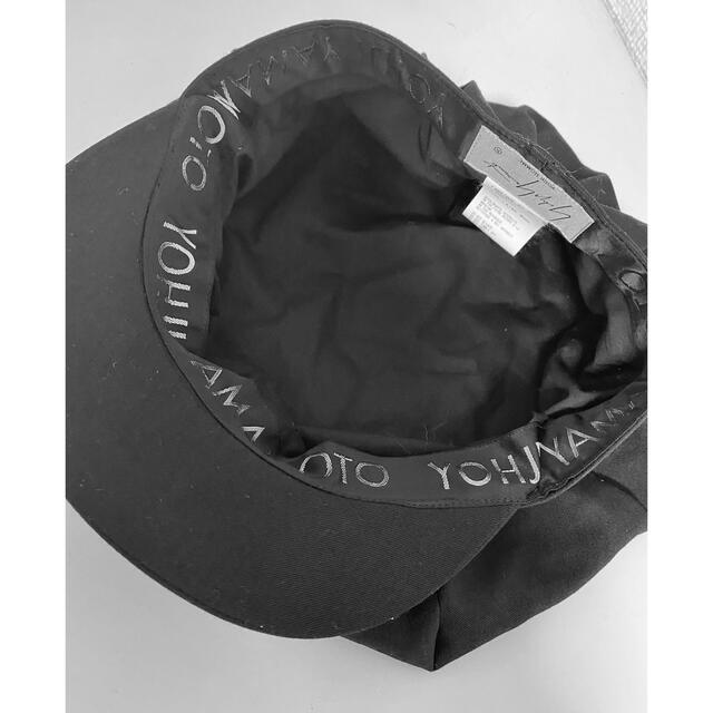 Yohji Yamamoto(ヨウジヤマモト)のヨウジヤマモトプールオム18awギャバキャスケット/yohjiyamamoto メンズの帽子(キャスケット)の商品写真