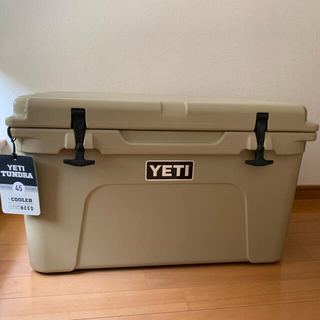 【新品 未使用‼︎】 YETI タンドラ クーラーボックス 45qt タンカラー(その他)