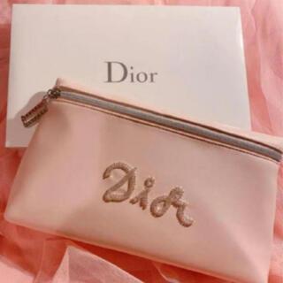 Christian Dior - ディオール  限定 ノベルティ ポーチ 新品未使用 ピンク
