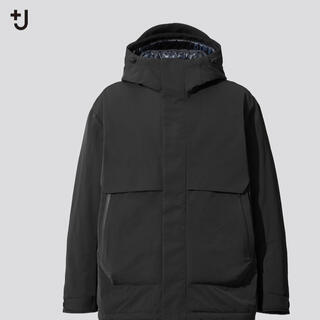 Jil Sander - ユニクロ +J ハイブリッドダウンオーバーサイズパーカー XL ブラック
