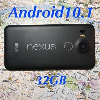 エルジーエレクトロニクス(LG Electronics)のNexus5X Android10.1 32GB SIMフリー 楽天OK(スマートフォン本体)