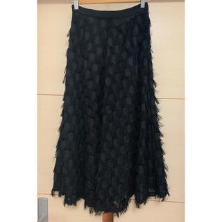 ラグナムーン(LagunaMoon)のラグナムーン フェザースカート(ロングスカート)