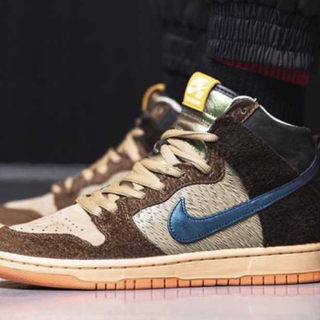 "NIKE - CONCEPTS × NIKE SB DUNK HIGH ""DUCK"
