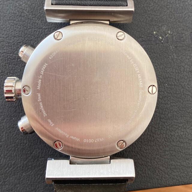 ISSEY MIYAKE(イッセイミヤケ)のISSEY MIYAKE Watch vk67-0010 中古 メンズの時計(腕時計(アナログ))の商品写真