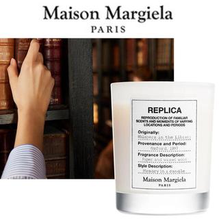 Maison Martin Margiela - 日本未入荷!メゾンマルジェラ キャンドル レプリカ ウィスパーインザライブラリー