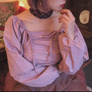 Lochie - day23 ribbon laceup blouse