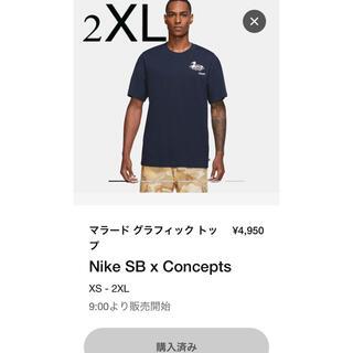ナイキ(NIKE)のNIKE SB concepts Tシャツ 2XL(Tシャツ/カットソー(半袖/袖なし))
