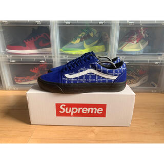 Supreme - Supreme/Vans® Old Skool Pro Royal US9