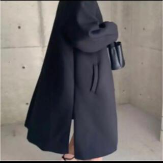 DEUXIEME CLASSE - ella_selectshop ボンディングコート  ブラック 美品