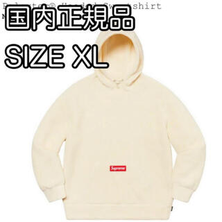 Supreme - Supreme Polartec Hooded Sweatshirt  XL