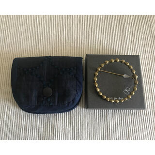 mina perhonen - ミナペルホネン  ハンドメイド ブローチケース コインケース