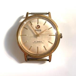 ラドー(RADO)のラドー オートマチック GF ラウンドケース 41石 スクリューバック RADO(腕時計(アナログ))