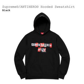 Supreme - 【新品/M】Supreme ANTIHERO Hooded Sweatshirt
