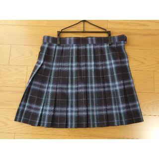 大きいサイズ KURI-ORI クリオリ 制服 スカート ブルーチェック