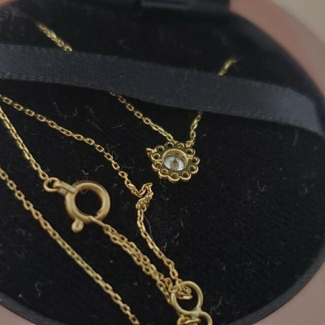 AHKAH(アーカー)のアーカー K18ネックレス 限定品 レディースのアクセサリー(ネックレス)の商品写真