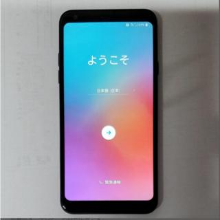 エルジーエレクトロニクス(LG Electronics)のdocomo LG style L-03K(スマートフォン本体)