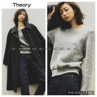 theory - ✤2019AW セオリー Theory ファープルオーバーニット✤