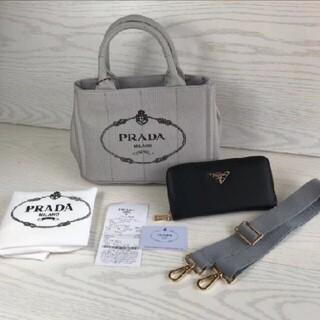 PRADA - 送料込 PRADA ショルダーバッグ 財布セット