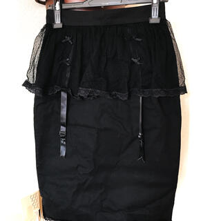 イーハイフンワールドギャラリーボンボン(E hyphen world gallery BonBon)のbonbon/ガーターベルト付スカート(ひざ丈スカート)