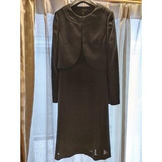 MICHEL KLEIN - ミッシェルクラン ブラックフォーマル スーツ