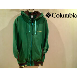 Columbia - [古着]コロンビア Columbia ジップアップ パーカー 刺繍ロゴ